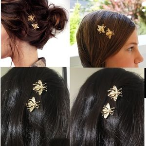 Bee hair pins insect